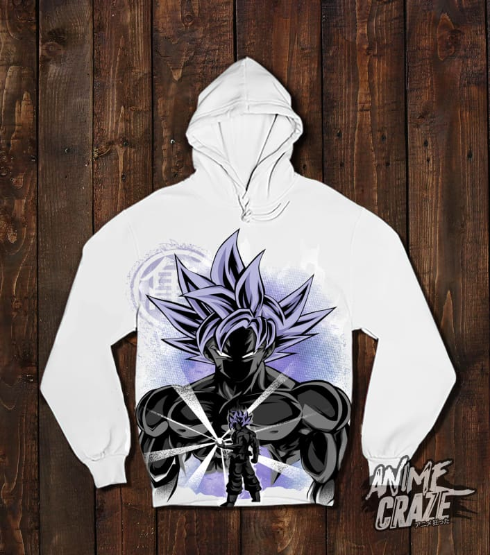Ultra Instinct Saiyan Pullover Hoodie(Exclusive) - Anime Craze