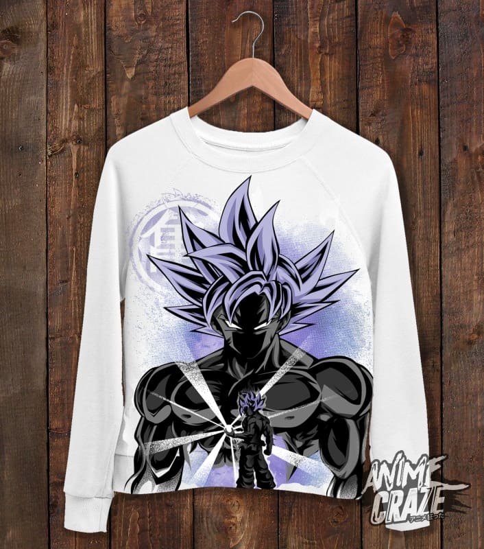 Ultra Instinct Saiyan Sweat Shirt(Exclusive) - Anime Craze