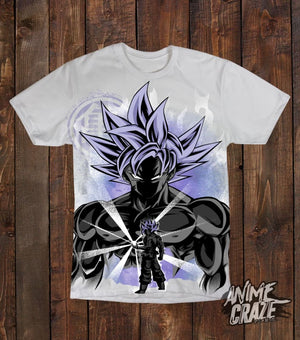 Ultra Instinct Saiyan T-shirt(Exclusive) - Anime Craze