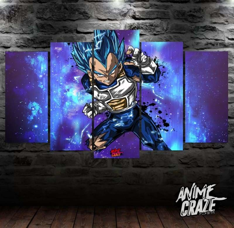 Vegeta Canvas(Exclusive) - Anime Craze