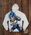Vegeta Pullover Hoodie(Exclusive) - Anime Craze
