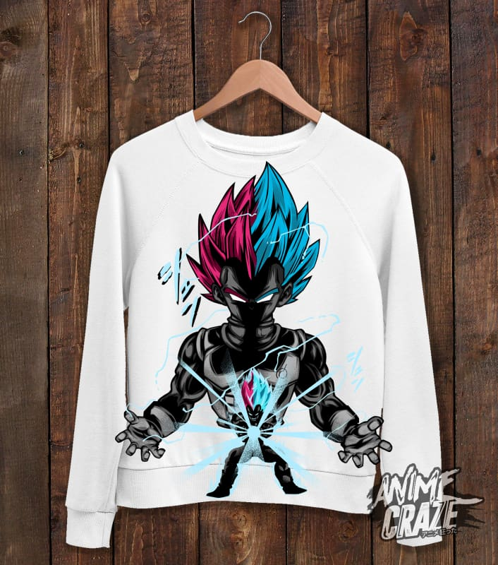 Vegeta Sweat Shirt(Exclusive) - Anime Craze
