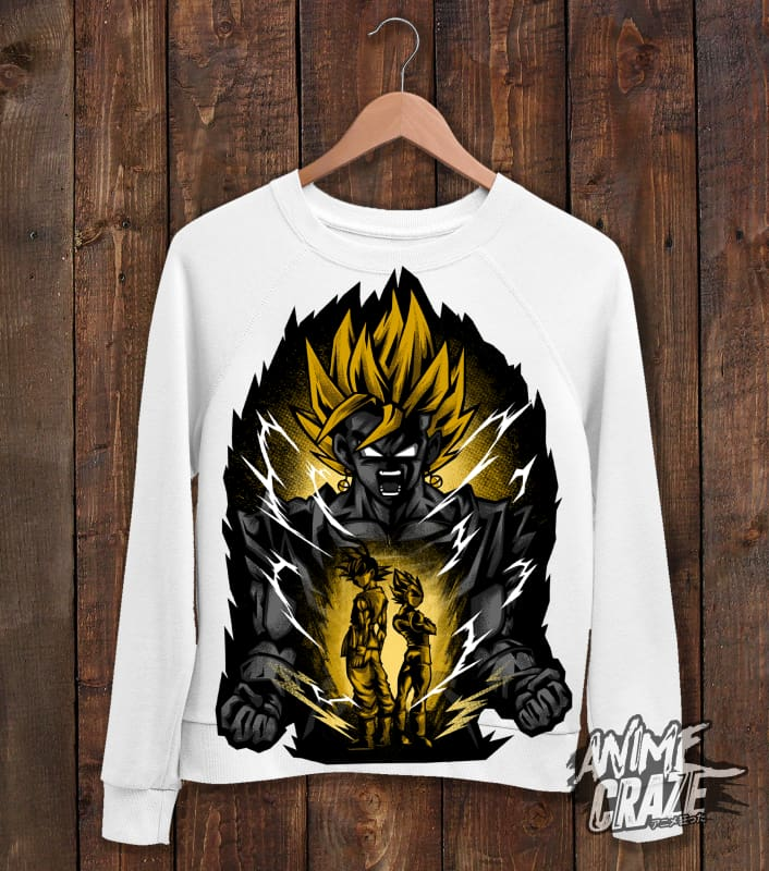 Vegeto Sweat Shirt(Exclusive) Dragon Ball