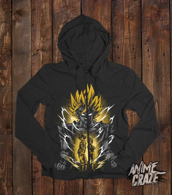 Vegeto Zip-Up Hoodie(Exclusive) Dragon Ball