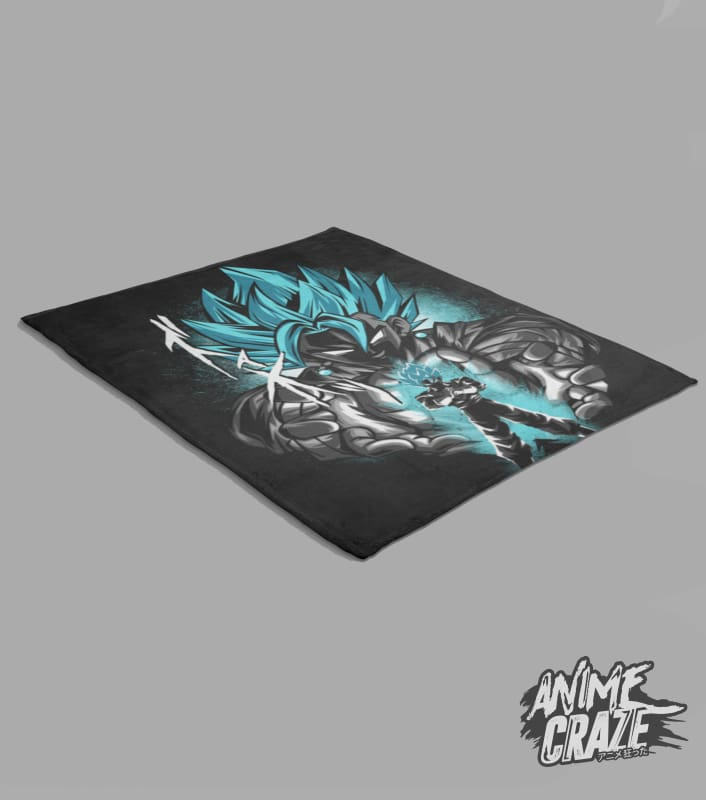 Vegito Fleece Blanket(Exclusive) - Anime Craze
