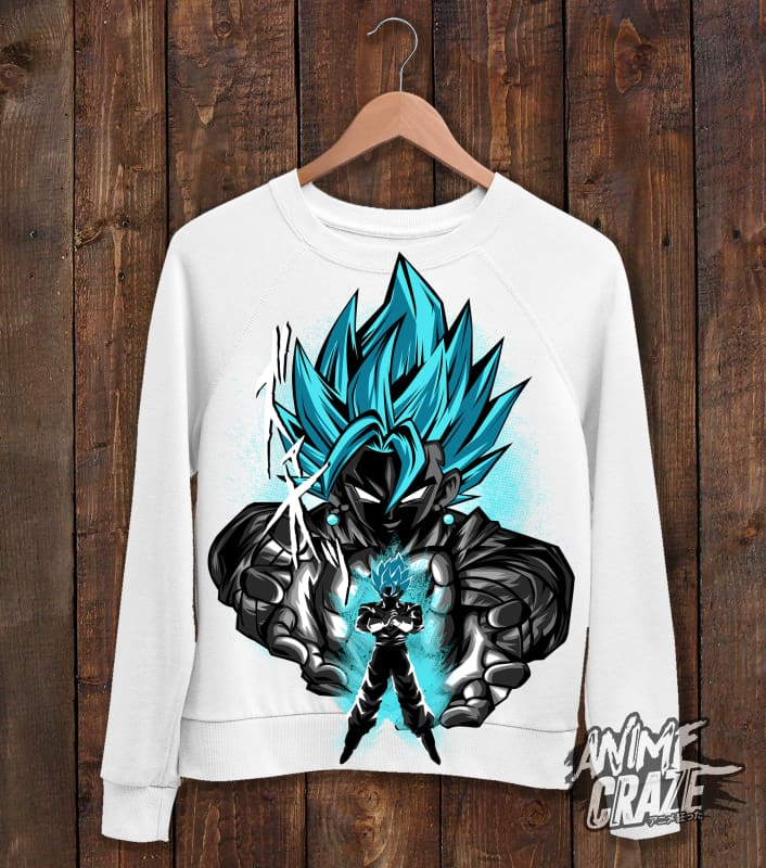 Vegito Sweat Shirt(Exclusive) - Anime Craze