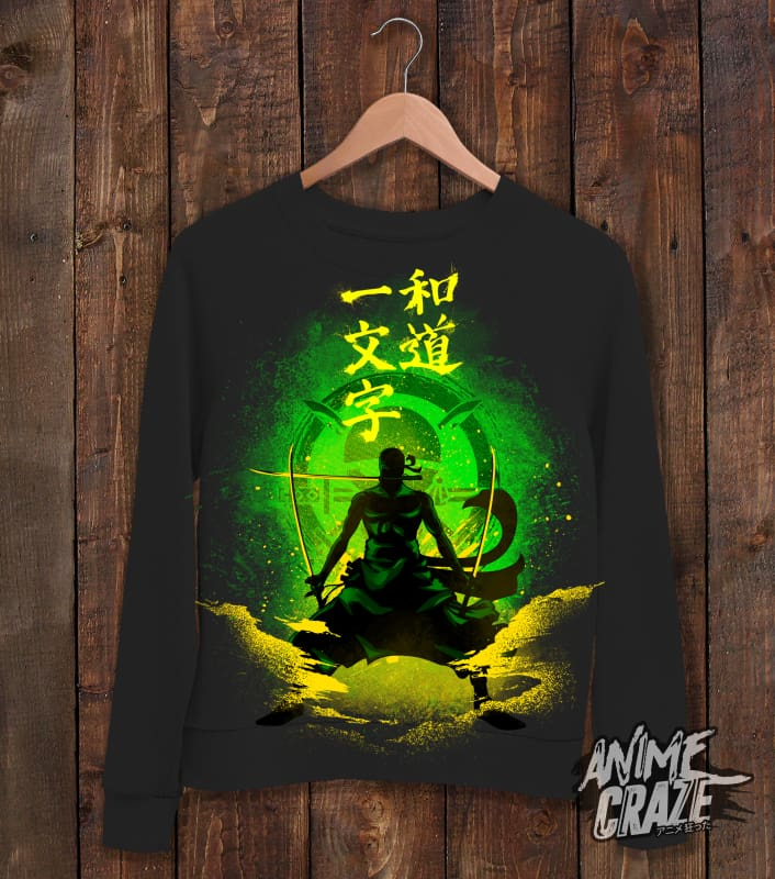 Zoro Sweat Shirt(Exclusive) - Anime Craze