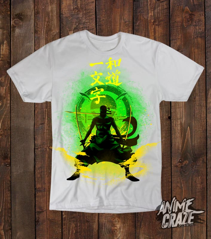 Zoro T-shirt(Exclusive) - Anime Craze
