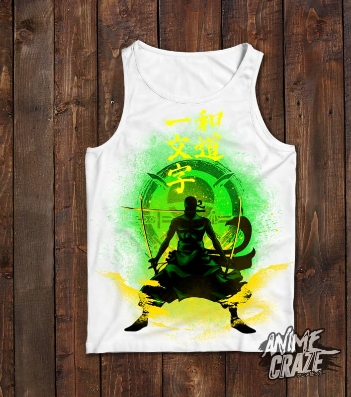 Zoro Tank Top(Exclusive) - Anime Craze