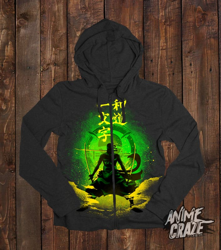Zoro Zip-Up Hoodie(Exclusive) - Anime Craze