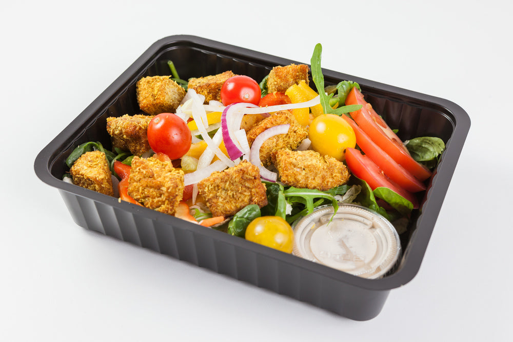 SALADE CUBES DE SAUMON CURRY-COCO
