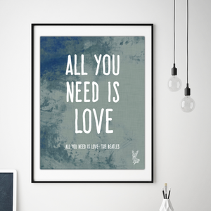 All You Need Is Love Kids Poster
