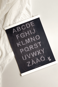 abc poster griffel 30x40