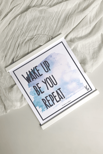 Be You Poster -  Watercolor