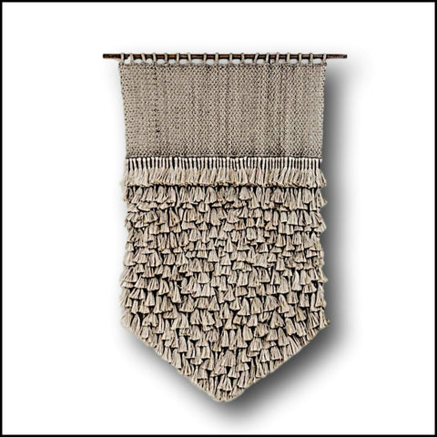 Giant Diamond Tassel Fringe Macrame Wall Hanging