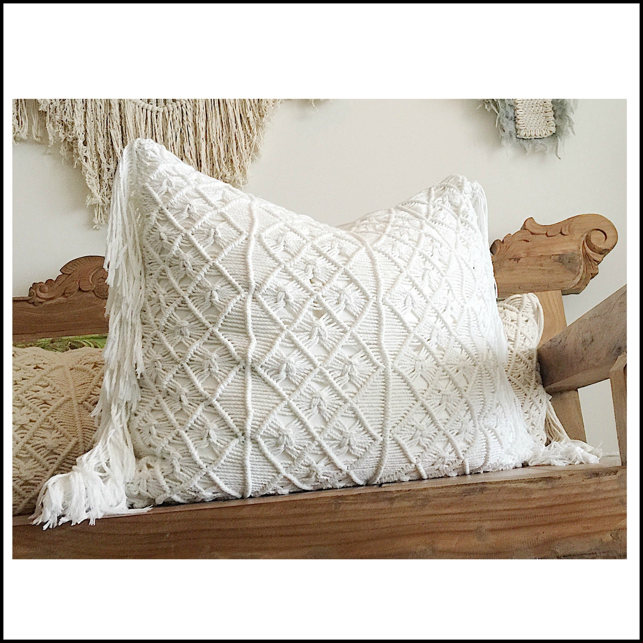 Macrame Giant Cushion