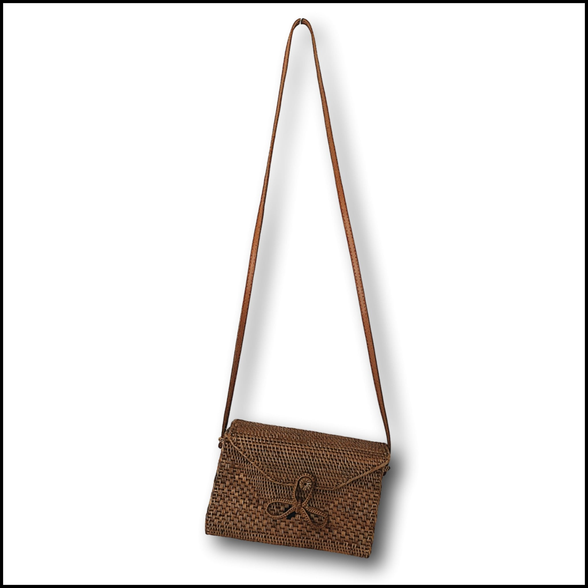 Oblong Rattan Atta Bag