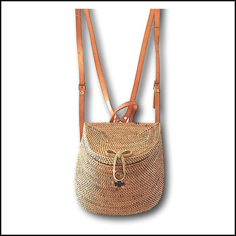 Rattan Back Pack
