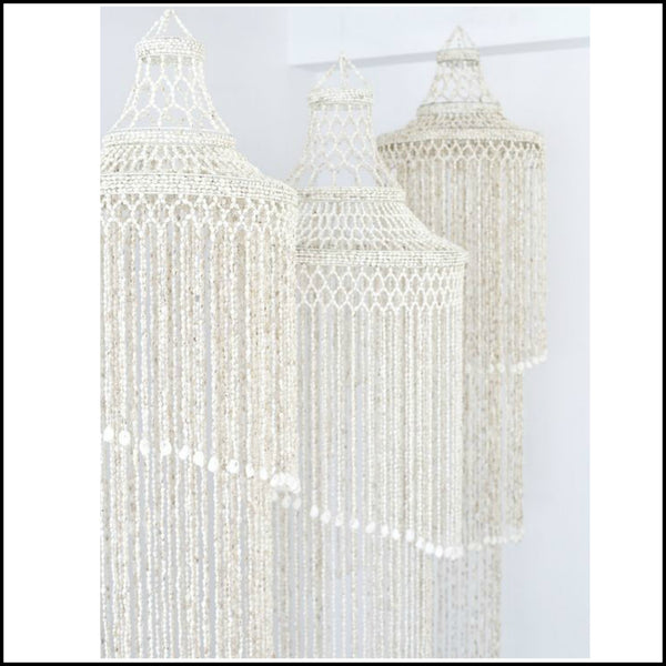 3 Tier Shell Chandelier