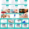 16 Modes Pain Relief Machine  Electric Pulse Impulse TENS