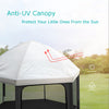 Sun Shade Anti-UV Cvanopy for Exqline Pop Up Playpen