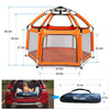 Exqline Pop N Go - Baby Playpen with Self Inflatable Mattress and UV Canopy