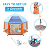 Pop N Go Kids Playpen - Best Compact Portable Baby Playpen with UV Canopy