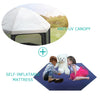 pop n play contains baby playpen, cover and mattress