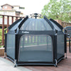 Exqline Pop N Go Full Bugs-Proof  Playpen - Upgraded 2nd Version - Black