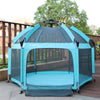 Exqline Full Bugs-Proof  Playpen - Upgraded 2nd Version - Turquoise