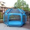 Exqline Pop N Go Full Bugs-Proof  Playpen - Upgraded 2nd Version - Blue