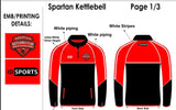 Spartan Kettlebells Club 1/4 zip top