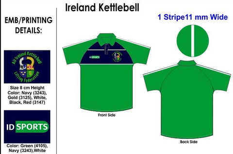 Ireland Kettlebell Polo Shirt