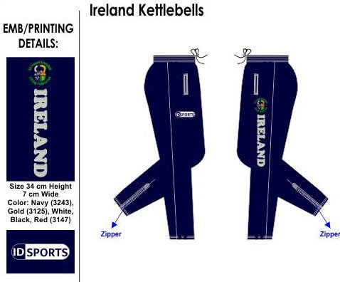 Ireland Kettlebell bottoms skinny leg