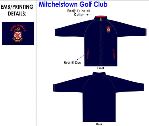 Mitchelstown Golf Club soft shell jacket