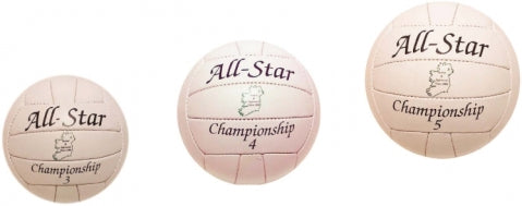 All Star gaa training football