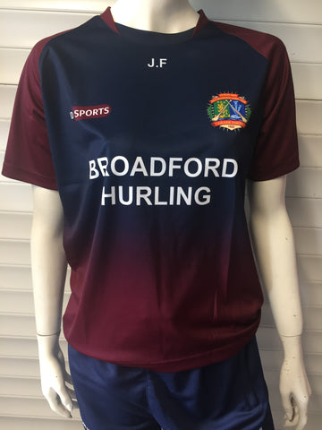 Broadford Hurling Club Training Jersey