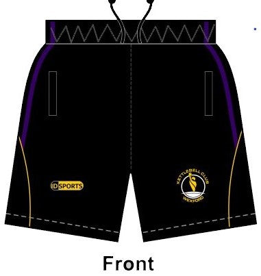 Wexford Kettlebell Club leisure shorts