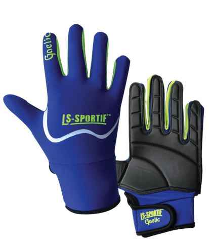 LS Sportif Famous Gaa Football Glove royal/lime
