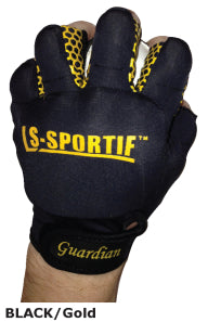 LS Sportif Guardian Hurling/Camoige glove black/gold