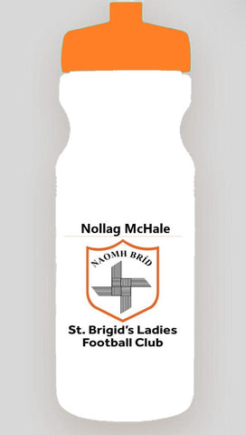 St Brigids Club 750 ml water bottle with name