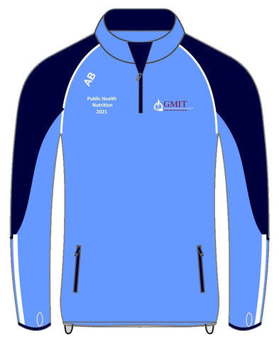 Galway-Mayo Institute of Technology Half zip top
