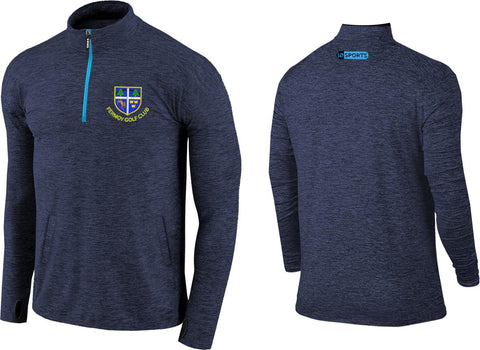 Fermoy golf club half zip top.