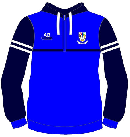 Kilmaley GAA Hoody with half zip