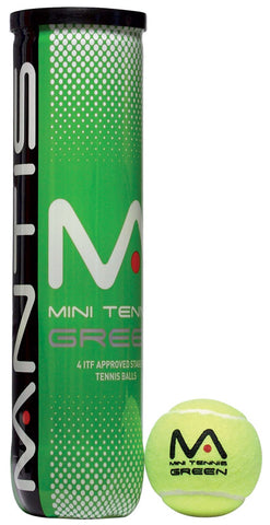 MANTIS Stage 1 Green Tennis Balls (Tube of 4)