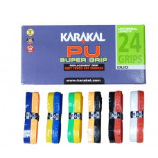 Karakal PU super grip two colour way