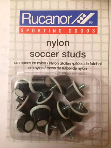 Rucanor Black Nylon Safety Stud Set