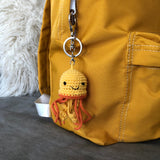 Backpack Charm - Jellyfish (orange)
