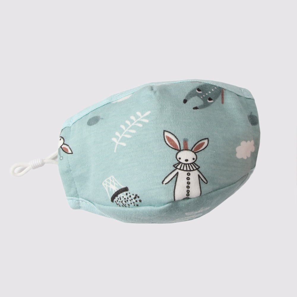 Kid's Reusable Cotton Face Mask with filter pocket - Hippity Hop