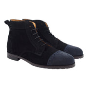 Black Suede Women Boots